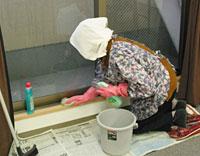 家屋の補修や家の片づけ、水漏れ修理、蛍光灯の交換